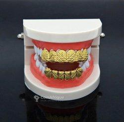 Grillz Dents dorées