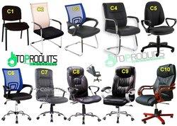 Chaises - Fauteuils - Table de bureau