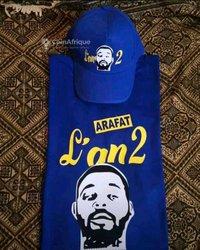 Tee-shirt DJ Arafat l'an2