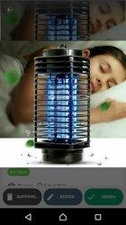 Lampes anti moustiques