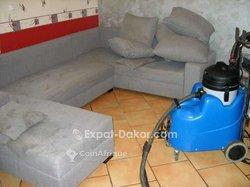 Nettoyage canapé en tissu / cuir