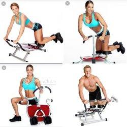 Appareil de fitness et d'abdos