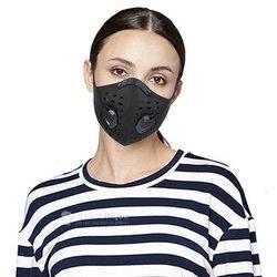 Masque avec double valve respiratoire