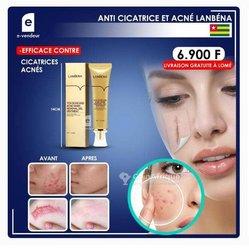 Produit anti-cicatrices et acné