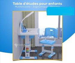 Table d'Etudes Enfant