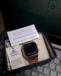 Montre Casio Digital Gold