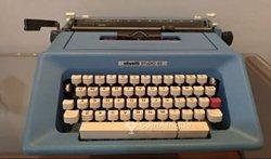 Machine à écrire Olivetti azerty