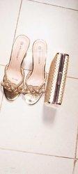 Ensemble chaussures et pochette