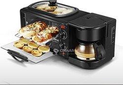 Micro-onde avec machine à café
