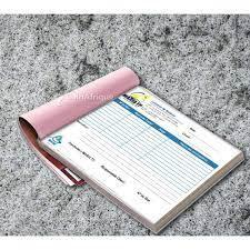 Confectionner vos carnets de reçu ou facture