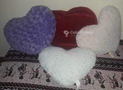 Coussins en forme coeur