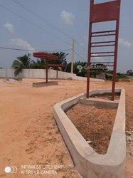 Station en cours de finition à Segbohouê