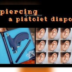 Piercing à pistolet