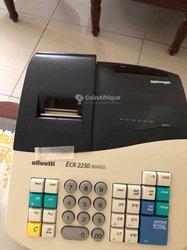 Caisse enregistreuse Olivetti ecr2150/2250