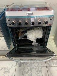 Cuisinière 4 feux inox