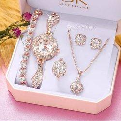 Coffret bijoux femme 5 pièces