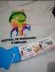 Tickets de festival de maracana