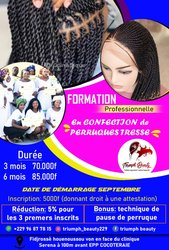 Formation perruque tresse