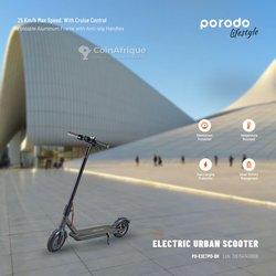 Scooter électrique urbain