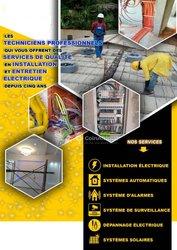 Électricien Bâtiment / Panneaux Solaires / Vidéosurveillance