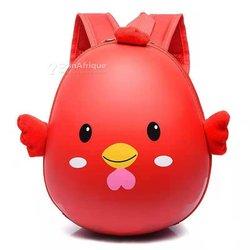 Sac à  dos coquille œuf rouge enfant