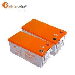 Batteries solaires Gel 200ah