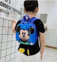 Sac à dos enfant maternelle Mickey - bleu