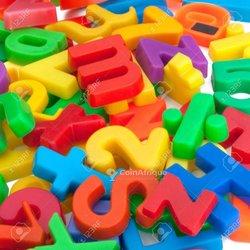 Magnetic alphabet et chiffre