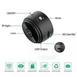 Caméra de surveillance avec mémoire