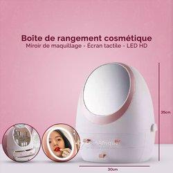 Boîte de rangement cosmétique