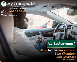 Location de voiture sans ou avec chauffeur