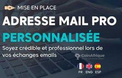 Création adresse mail professionnelle