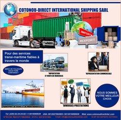 Transport maritime vers Afrique
