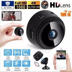 Mini caméra de surveillance  wi-fi