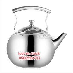 Théière à eau chaude - acier inoxydable