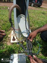 Réparation de lampadaire