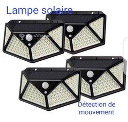 Lampe solaire avec capteur de mouvement