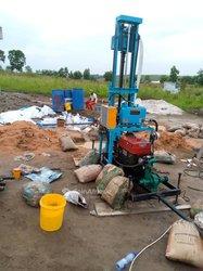 Construction de forage d'eau potable