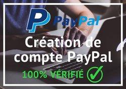 Création compte paypal