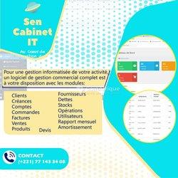 Création logiciel de gestion commercial