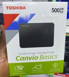 Disque dur externe Toshiba Canvio Basics - 500 Go