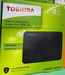 Disque dur externe Toshiba Canvio Basics - 4To