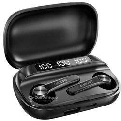 Écouteurs bluetooth sans fil Lenovo Qt81