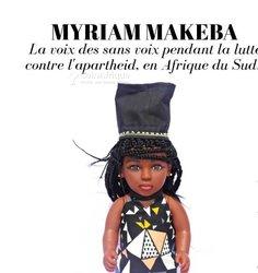 Poupée noir reines d'afrique