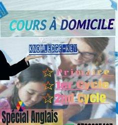 Cours À Domicile - Anglais