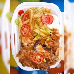 Restauration - Frites au poulet