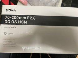 Objectif Sigma 70-200mm pour Nikon