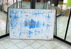 Peinture d'art abstrait