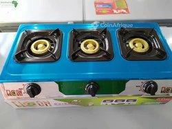 Cuisinière 3 foyers automatique à gaz