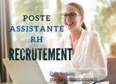 Offre d'emploi - Assistant ressource humaine
